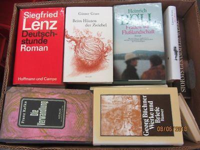 39 Bücher Romane deutsche Klassiker Böll Lenz Mann Grass Kafka u.a.
