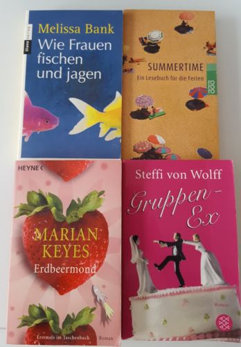 Lesepaket Buchpaket Frauenromane  TOP! Paket Bücher