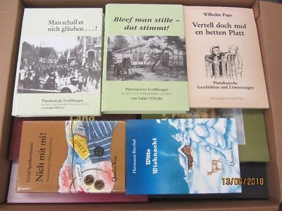 69 Bücher Platt Plattdeutsch Mundart niederdeutsche Sprache Dialekt