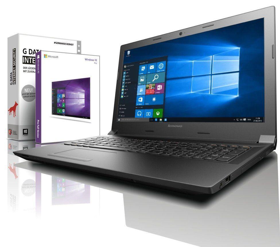 Lenovo Laptop - Intel 4x2.50 GHz - 8GB - 256 GB SSD - USB 3.0- HDMI - Win10 Prof