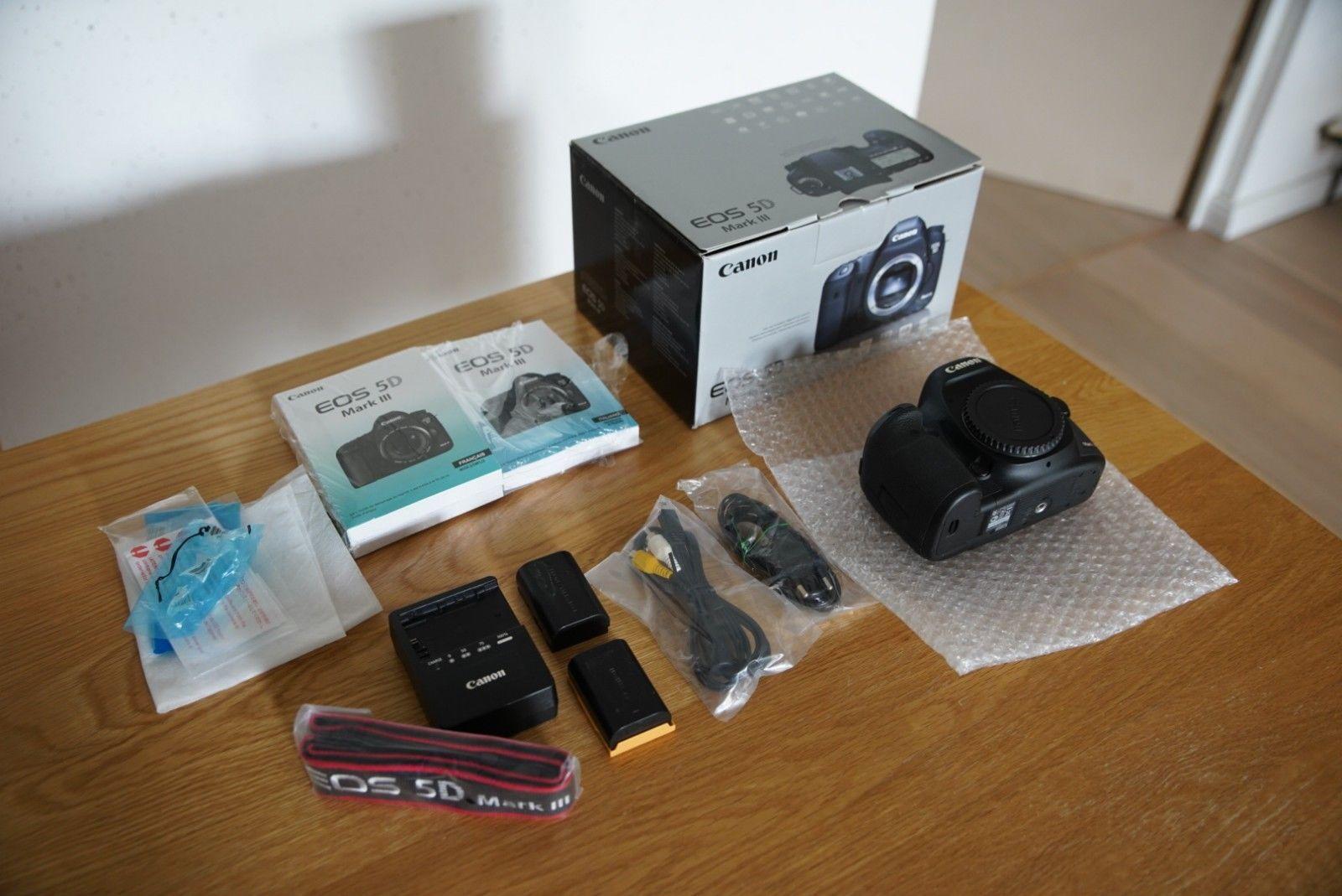 Canon EOS 5D Mark III Body, perfekter Zustand nur17.825 Auslösungen