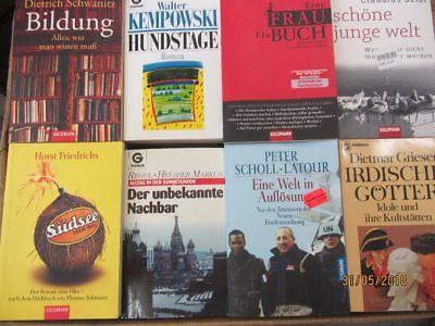 97 Bücher Taschenbücher Goldmann Verlag