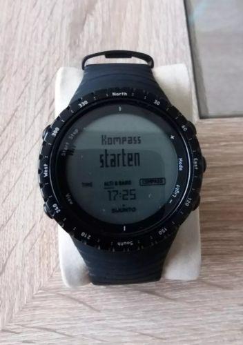 Suunto Core All Black Smartwatch Höhenm, Barometer Outdoor  U2 so gut wie NEU