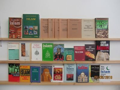 34 Bücher Islam Mohammed muslimische Welt Islamismus Koran islamische Kultur