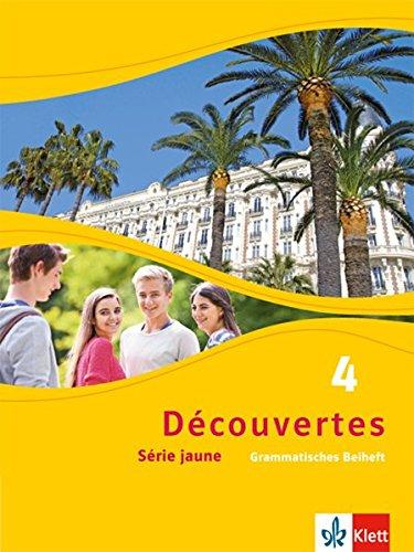 Découvertes 4. Série jaune: Grammatisches Beiheft 4. Lernjahr (Découvertes. Série jaune (ab Klasse 6). Ausgabe ab 2012)