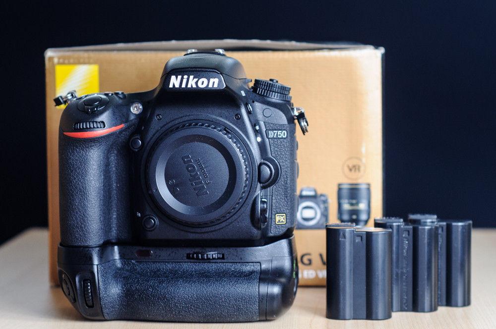 Nikon D750 in sehr gutem Zustand - 21152 Auslösungen