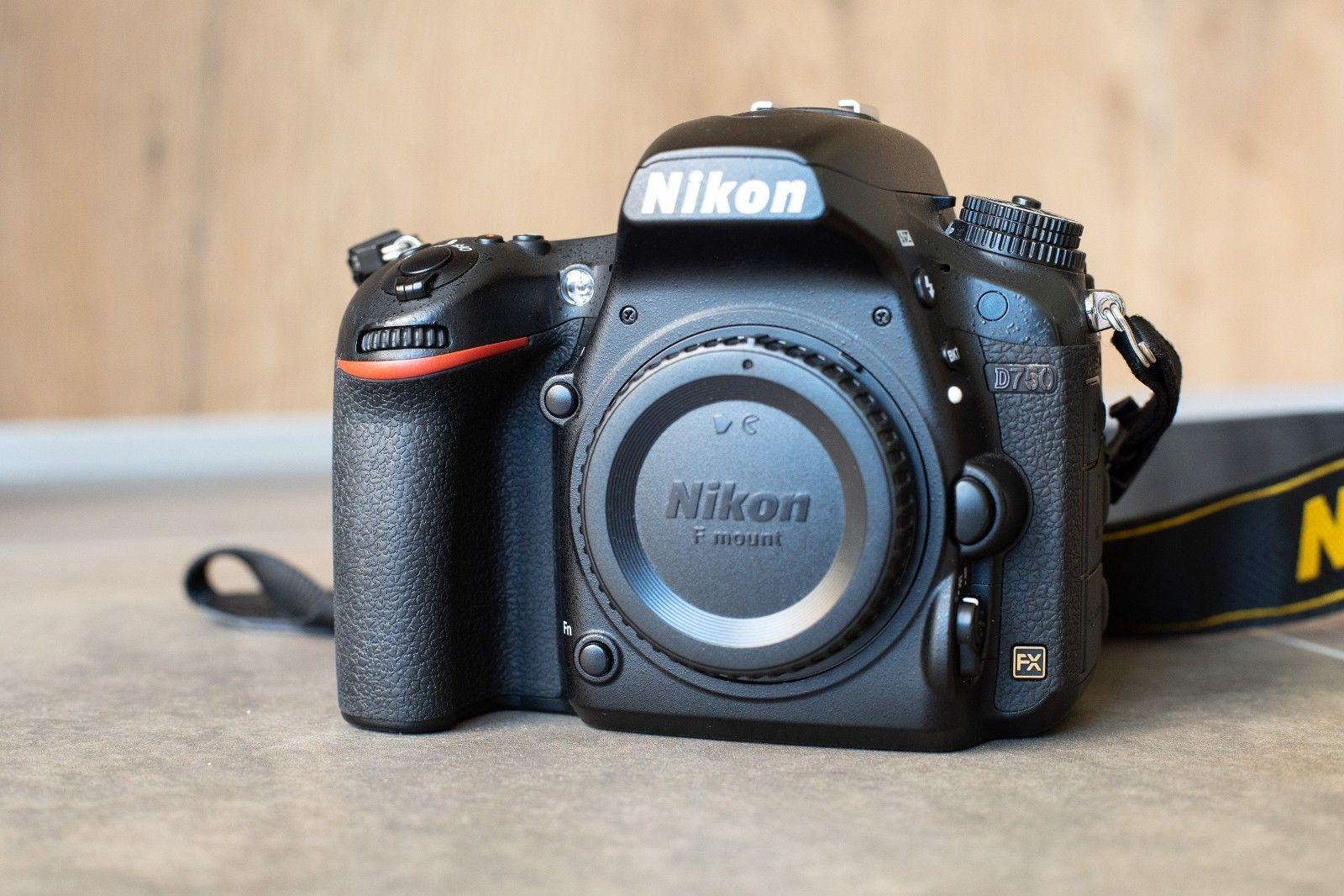 Nikon D750 24.3mp DSLR Kamera, Vollformat Spiegelreflex ******TOP******