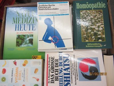 43 Bücher Gesundheit Medizin Selbstheilung Naturmedizin Naturheilkunde