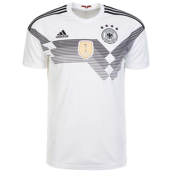 adidas DFB Home Deutschland Heimtrikot weiß WM 2018 Herren Gr. L