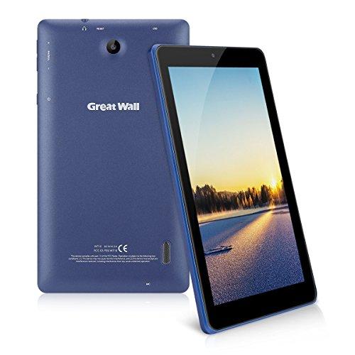 7 Zoll Android 7.0 Tablet PC - Great Wall W710 (1024*600 Pixel, 1GB RAM 8GB ROM, Dual Kameras, RK3126C Quad Core, Wifi) Blau