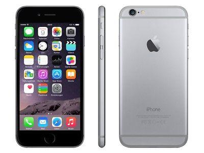 Apple iPhone 6 - 32GB - Spacegrau - (Ohne SIM-Lock) - NEUES VITRINENGERÄT - WOW