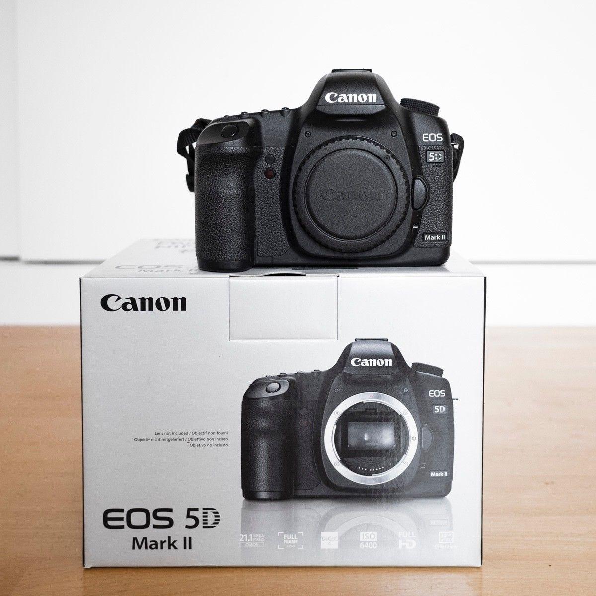 Canon EOS 5D Mark II 21,1 MP Digitalkamera DSLR Body Vollformat sofort loslegen