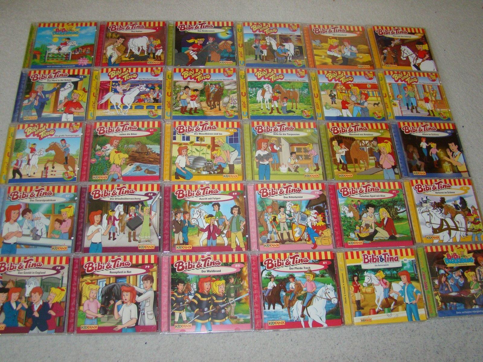 Bibi und Tina - CD Sammlung