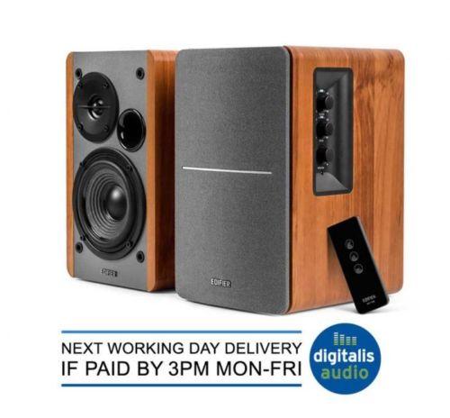 Edifier R1280T Active 2.0 Bookshelf Studio Speakers System for TV/MAC/PC/Laptop