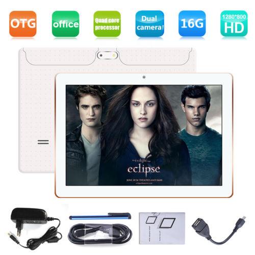 10,1 ZOLL HD TABLET PC ANDROID 7,0 QUADCORE 16GB Dual SIM/Cam 3G WIFI GPS OTG BT