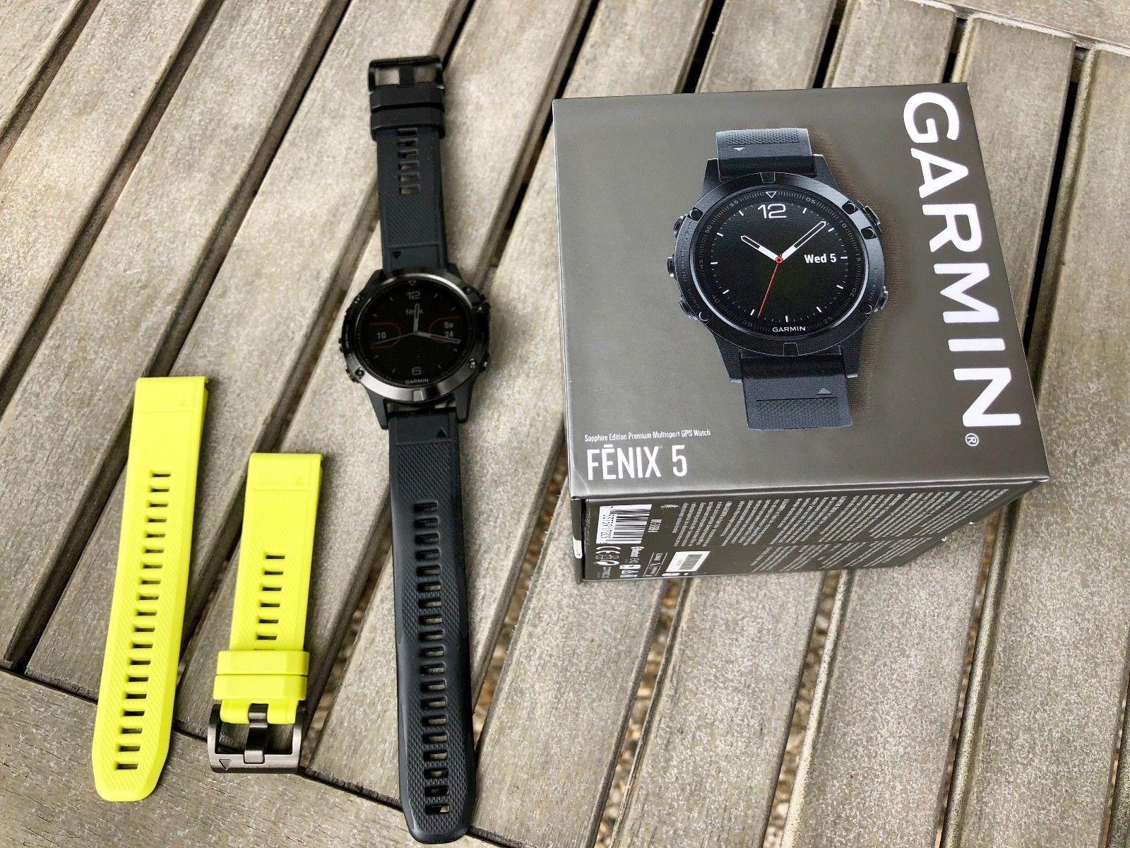 Garmin Fenix 5 Saphir GPS Smartwatch