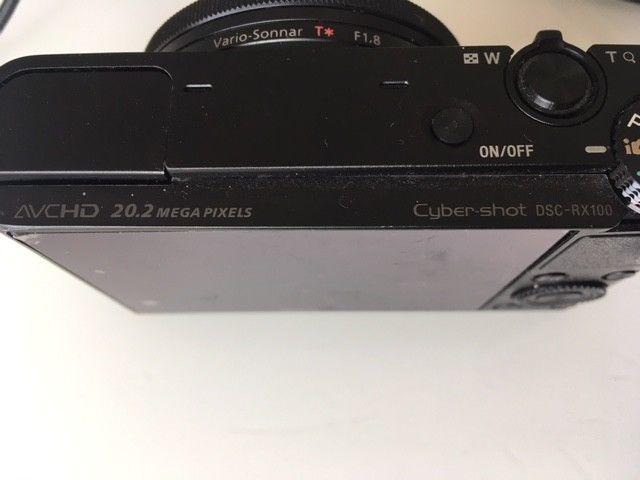 Sony Cyber-shot DSC-RX100 20.2 MP Digitalkamera - Schwarz