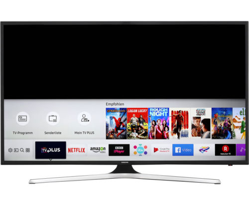 Samsung UE75MU6179UXZG 4K/UHD LED Fernseher 189 cm [75 Zoll] Schwarz