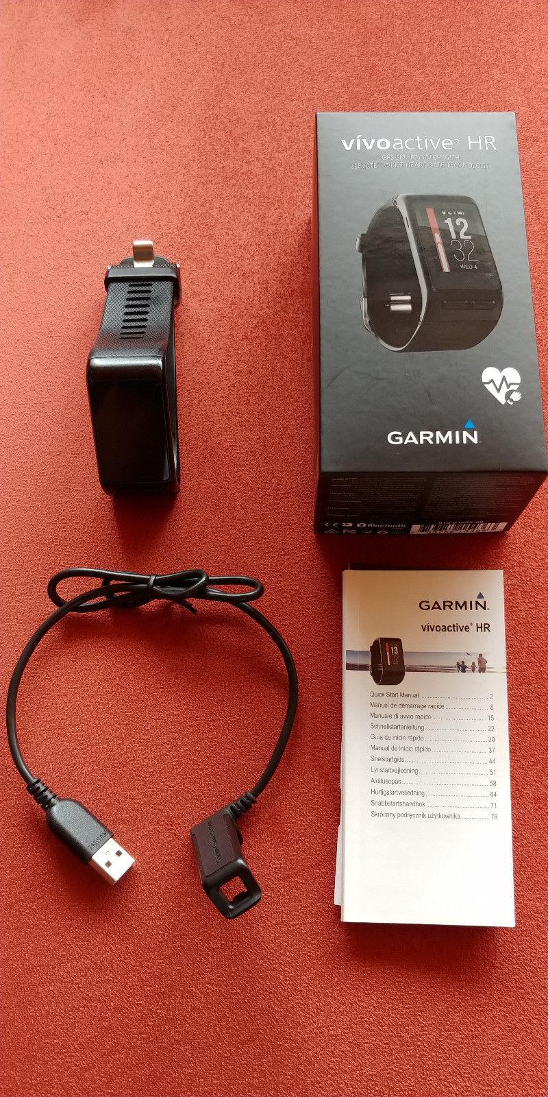 Garmin Vivoactive HR voll funktionsfähig und gutem gebrauchtem Zustand mit OVP
