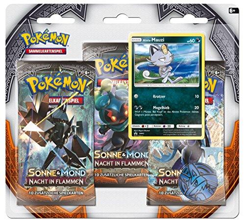 Pokemon Pokémon Company International 25956 - PKM SM03 3-Pack Blister De