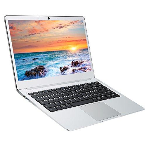 Jumper EZbook 3L Pro - 14 Zoll Windows 10 Notebook mit deutschem Tastaturaufkleber (Intel Apollo Lake N3450 4 Core, 6GB DDR3L, 64GB SSD, 1920*1080 Pixel, 4800mAh, 2.0MP Frontkamerat, BT4.0, Wifi)