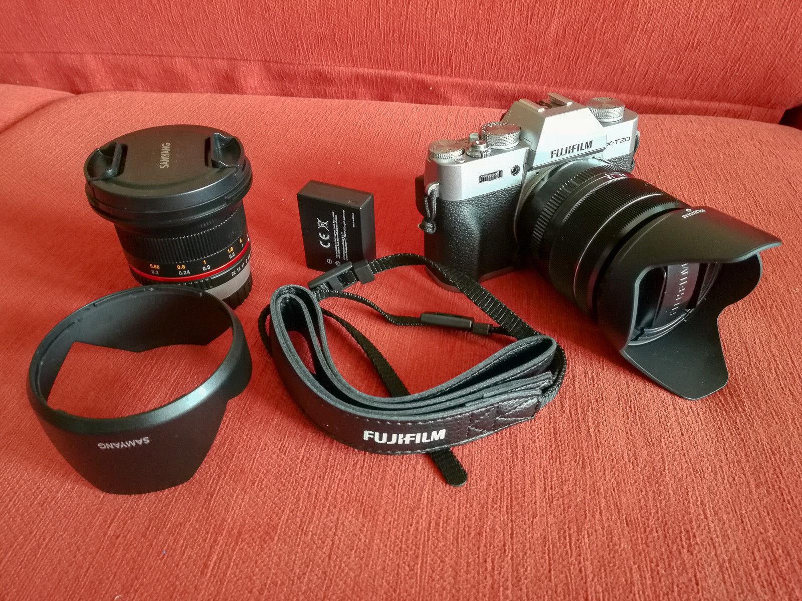 Fujifilm X-T20 incl. 2 Objektive und Zubehörpaket | Neuwertig