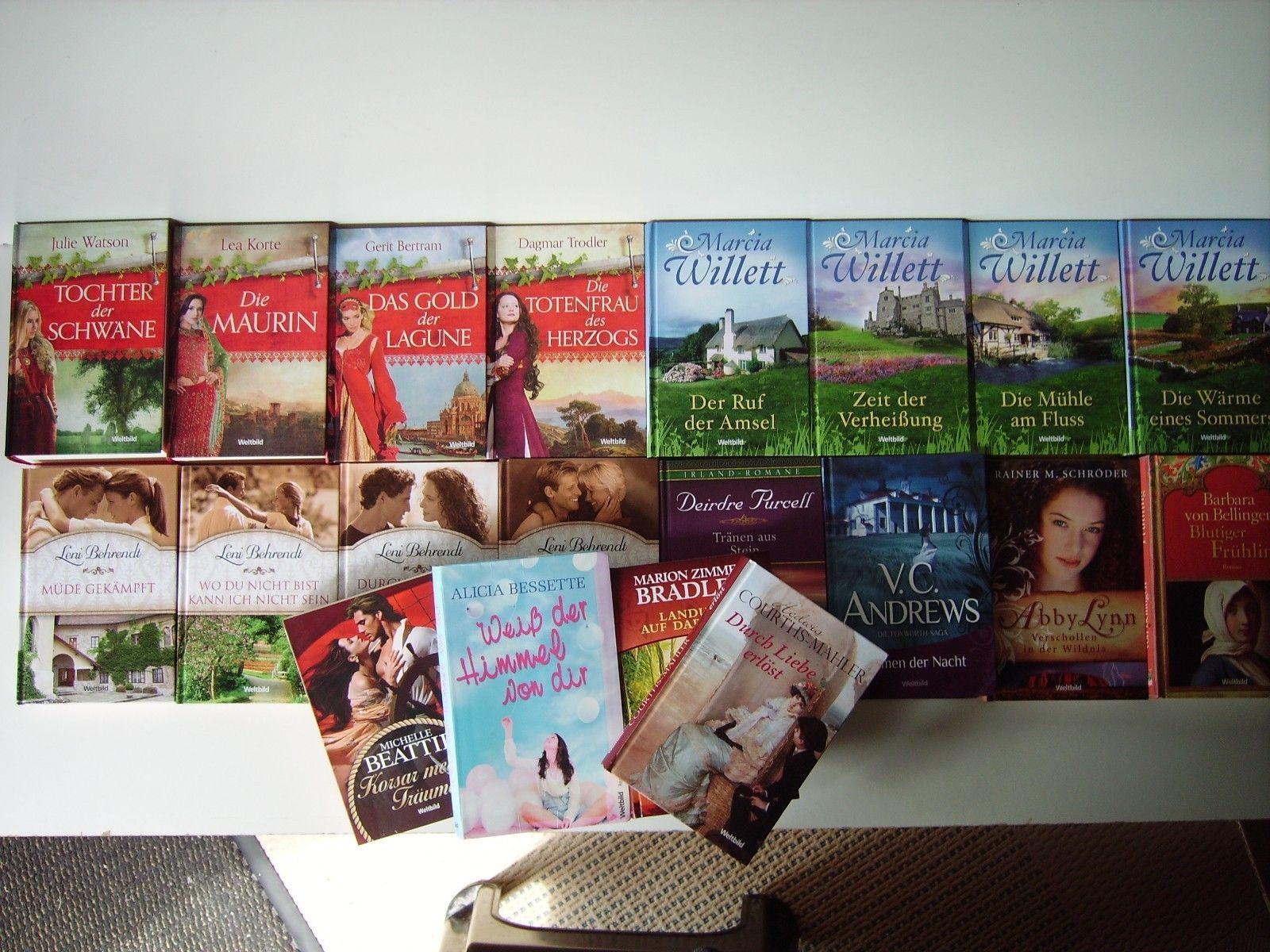 20 Bücher Paket Weltbild Frauen Romane Romantik Drama Schicksal Sommerlektüre