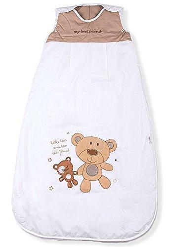 Mr. Sandman Bear, Best Friends Baby/Toddler Sleeping Bag, Standard weight, Size 1: 0-6 months