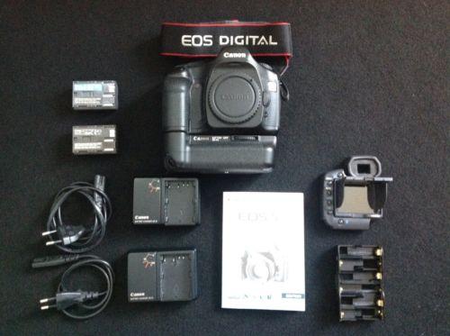 Canon Eos 5d 12,8MP , mit Vollformatsensor - digitale Profi Spiegelreflexkamera