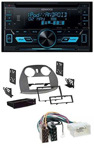 caraudio24 Kenwood DPX-3000U 2DIN USB Aux MP3 CD Autoradio für Mitsubishi Eclipse 4G 05-12