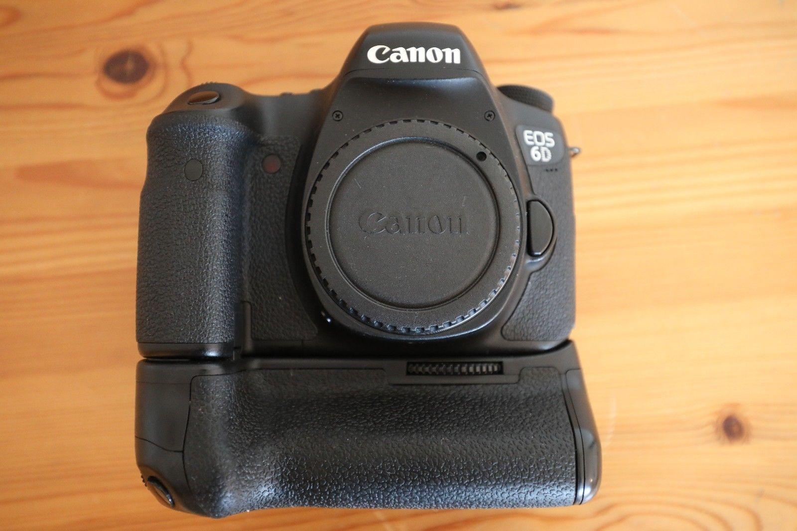 Canon EOS 6D 20,2 MP SLR-Digitalkamera - Schwarz (Nur Gehäuse) Auslösung 14900