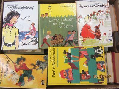 60 Bücher ältere Kinderbücher ältere Jugendbücher ältere Jugendromane Paket 1