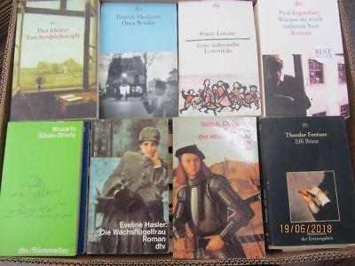 104 Bücher Taschenbücher dtv Verlag
