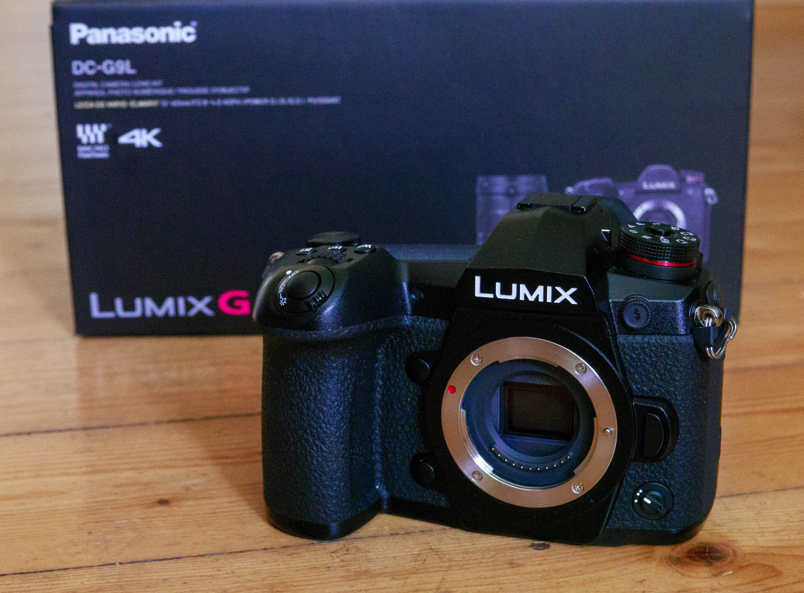 Panasonic Panasonic LUMIX DC-G9EG 20.3 MP Digital Camera - schwarz (Nur Gehäuse)