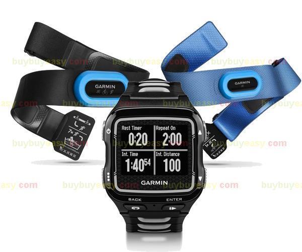 GARMIN Forerunner 920XT Multisportuhr Smartwatch TRI BUNDLE Triathlon 2xGURT GPS