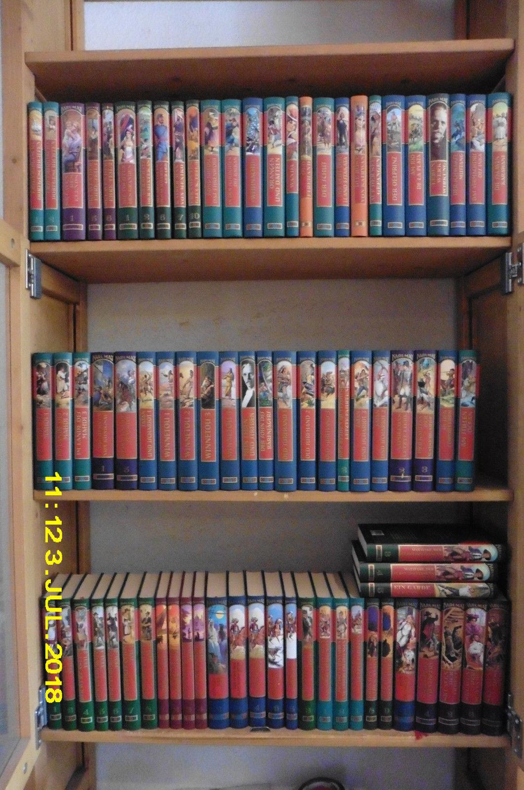 78 Bde Karl May, Gesammelte Werke, Weltbild Verlag