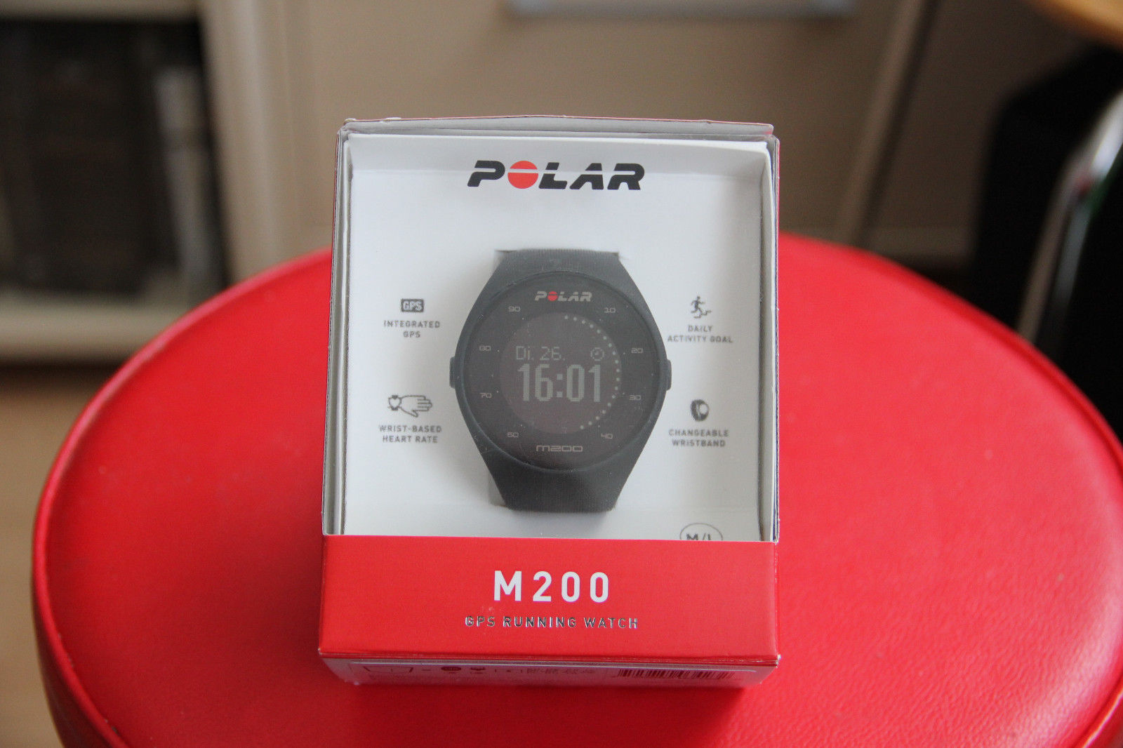 Polar M200 multifunktionale GPS-Pulsuhr ohne Brustgurt