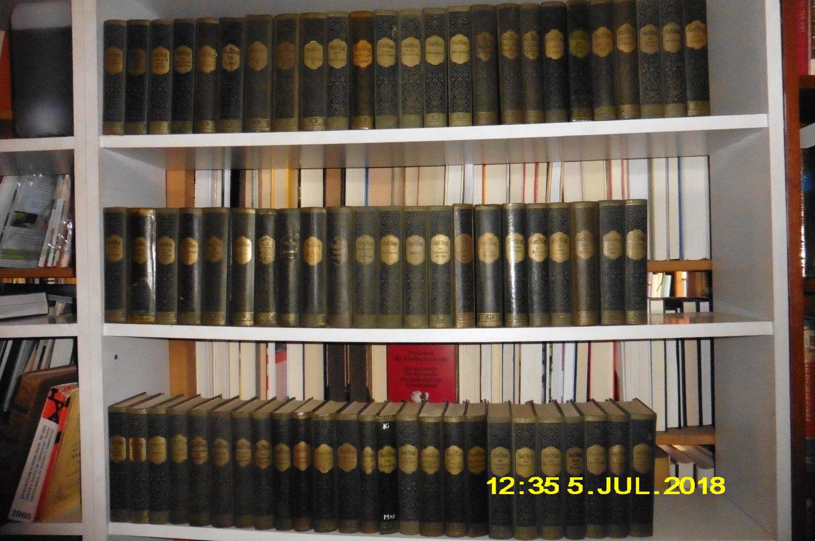 Karl May, Gesammelte Werke Bde 1 - 72 ( kpl.)