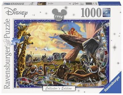 1000 Teile Ravensburger Puzzle Disney Collector's Edition König der Löwen 19747