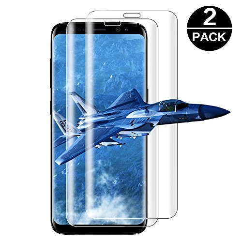 Panzerglas für Samsung Galaxy S8 / S9, [2 stück] Displayschutzfolie Panzerfolie für S8 / S9, Ultra Transparenz Full HD, Blasenfrei, Anti-Fingerabdruck, Hohe Qualität Folie Schutzfolie für Samsung Galaxy S8 / S9