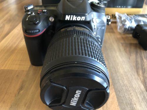 Nikon D D7100 24.1 MP SLR-Digitalkamera - Schwarz (Kit m/ AF-S DX 18-105mm...