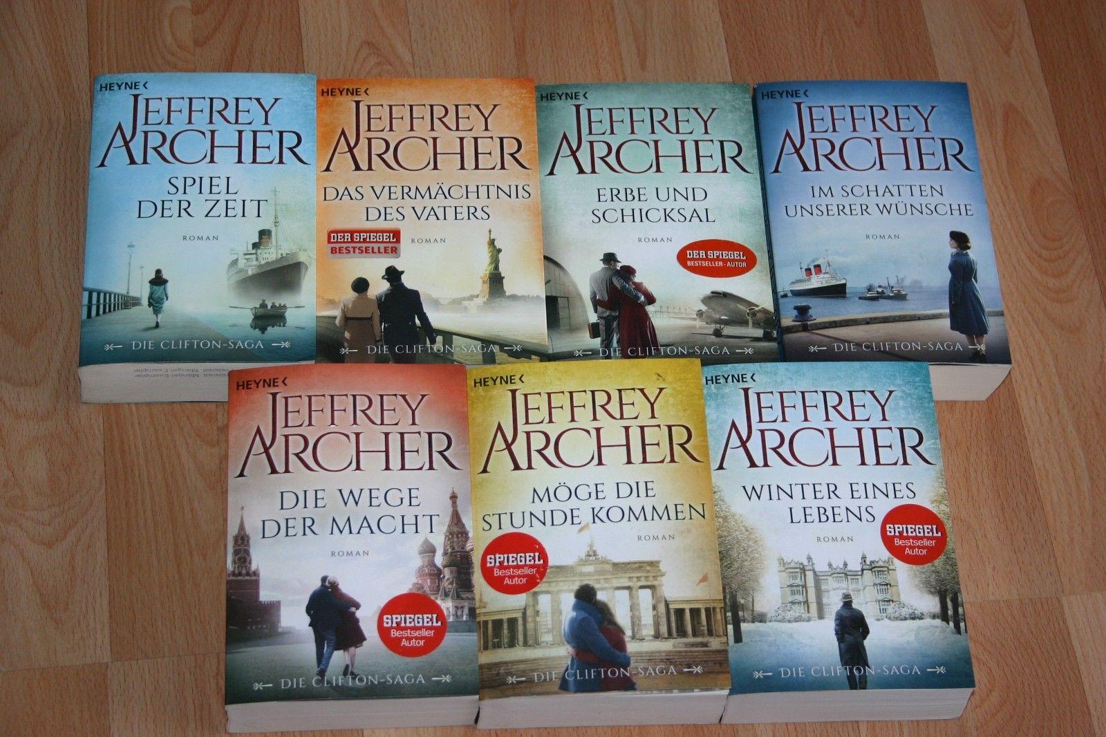 Jeffrey Archer Die Clifton Saga 1-7 Band 1+2+3+4+5+6+7
