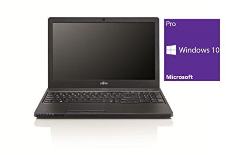 Fujitsu Lifebook A555 Notebook / Laptop | 15.6 Zoll Display | Intel Core i3-5005U @ 2,0 GHz | 4GB DDR3 RAM | 500GB HDD | DVD-Brenner | Windows 10 Pro vorinstalliert (Zertifiziert und Generalüberholt)