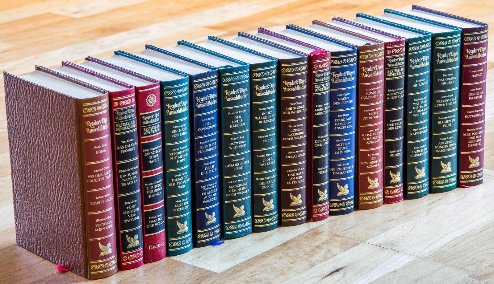 15 Bücher Readers Digest Auswahlbücher / Bestseller Sonderband - auch für Deko