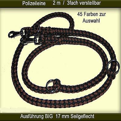 ***** Polizeileine BIG 2 m Länge 3fach verstellbar / 45 Farben zur Auswahl *****