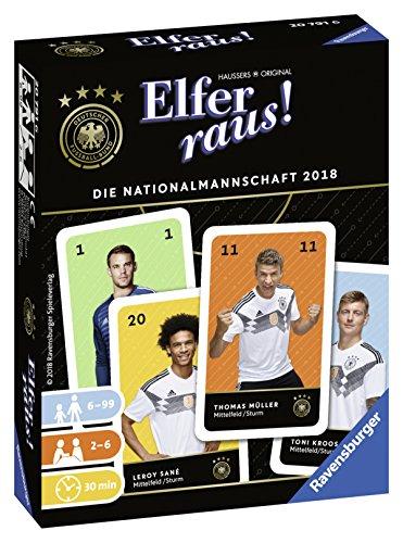 Ravensburger 20791 Elfer Raus Die Nationalmannschaft 2018