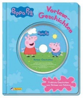 Peppa Pig Vorlesegeschichten mit CD (Buch) NEU