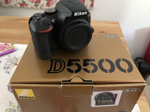 Nikon D5500 24.2 MP DSLR schwarz Body