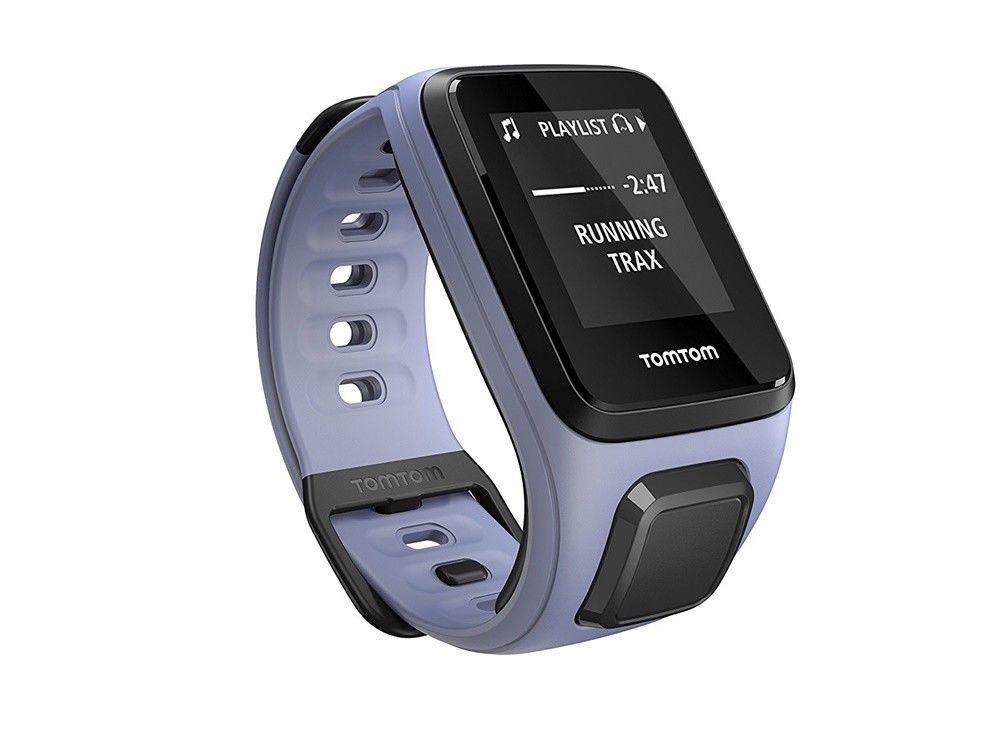 TomTom Spark Cardio + Musik GPS-Fitnessuhr Sport Herzfrequenz lila Größe S - 488