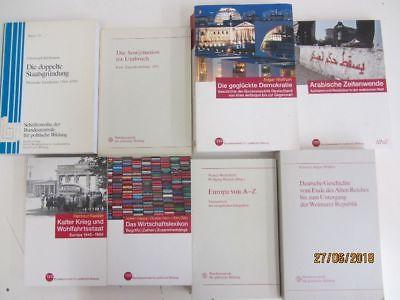 36 Bücher Bundeszentrale für politische Bildung Politik Sozialwissenschaft u.a.